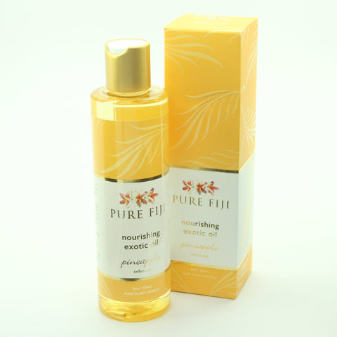 8 oz. Pure Fiji Exotic Spa Oil - Pineapple Scent - ArtsiHome