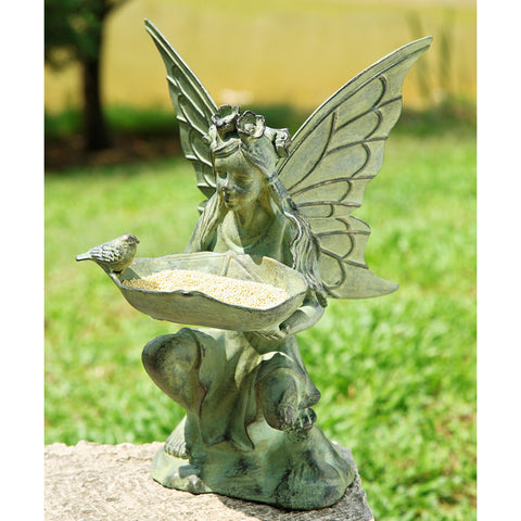 SPI Garden Collection Fairy Bird Feeder - ArtsiHome