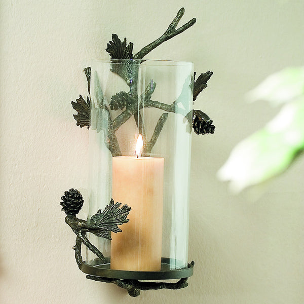 SPI Home Collection  Pinecone Wall Sconce - ArtsiHome