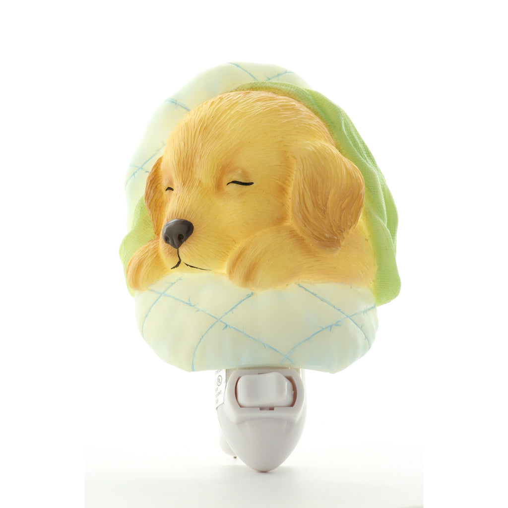 Baby Puppy Night Light, Ibis & Orchid Nightlights, NIB, 50088 - ArtsiHome
