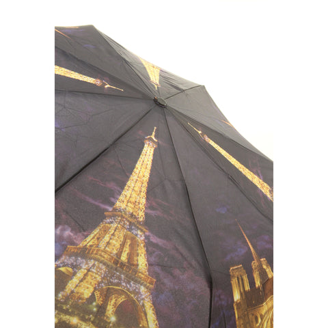 Galleria Paris Lights Folding Umbrella - ArtsiHome