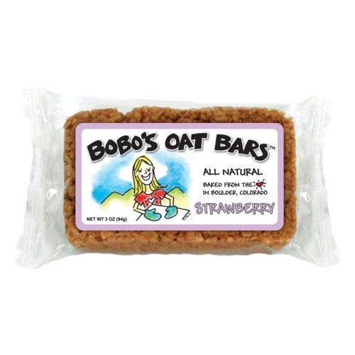 Bobo's Oat Bars All Natural, Strawberry, 3-Ounce Packages (Pack of 12) - ArtsiHome