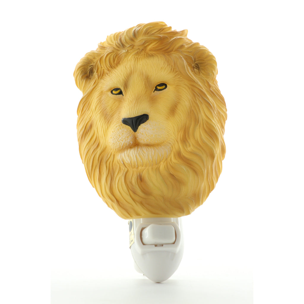 Lion Night Light, Ibis & Orchid Nightlights, NIB, 50149 - ArtsiHome