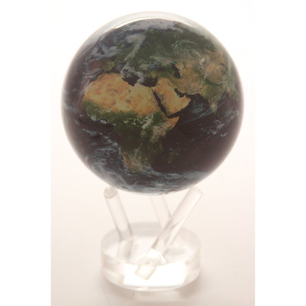 Mova Satellite View 4.5 in. diam. Globe with Cloud Cover - ArtsiHome - TurtleTech - 6