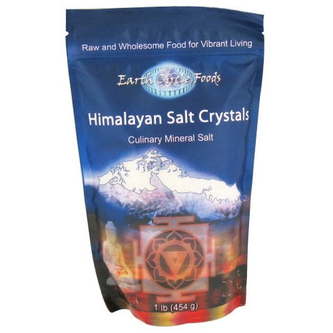 Earth Circle Organics Salt Fine Table Himalayan Culinary - Kosher - 1lb Bag - ArtsiHome - Earth Circle Organics