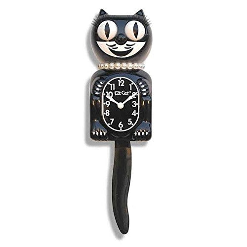 Classic Black Lady Kit-Cat® Klock - ArtsiHome