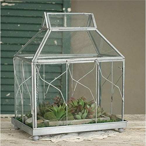 Table Top Terrarium from Colonial Tin Works - ArtsiHome - Colonial Tin Works