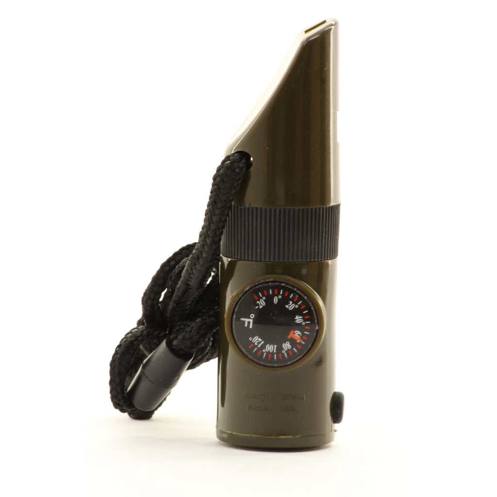 Kikkerland Life Saver 7 Function Survival Kit Whistle - ArtsiHome