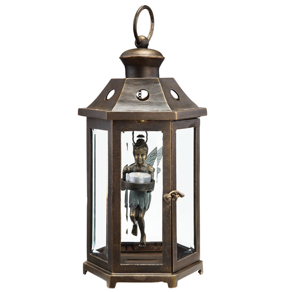 SPI Garden Collection Hanging Fairy Lantern - ArtsiHome