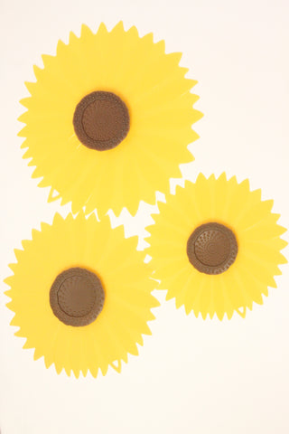Charles Viancin Sunflower Silicone Suction Lid & Food Cover (Set of 3) - ArtsiHome