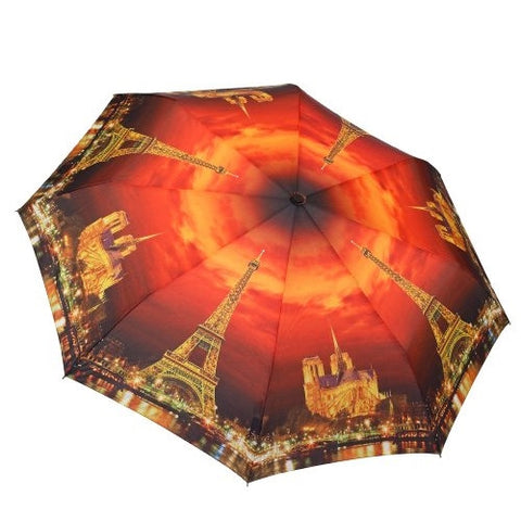 City of Lights Folding Umbrella w/45
