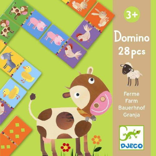 Djeco Domino Farm Theme - ArtsiHome