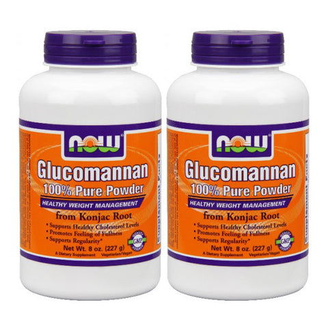 Now Foods Glucomannan 100% Pure Powder 16 OZ - ArtsiHome