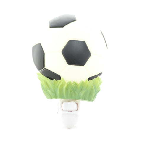 Soccer Ball Night Light, Ibis & Orchid Nightlights, NIB, 50079 - ArtsiHome