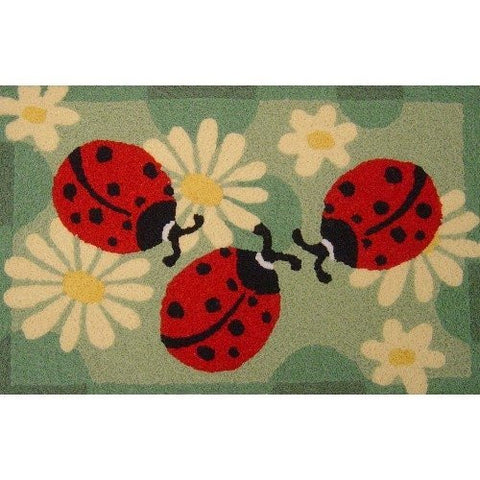 Jellybean Ladybugs Indoor Outdoor Rug - ArtsiHome