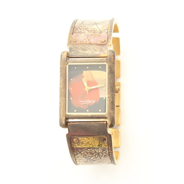 Watchcraft Handmade Milieris Limited Edition Unisex Watch w/ Rectangular Case - ArtsiHome - Watch Craft - 9