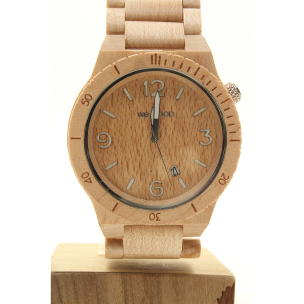 WeWOOD ALPHA Maple Watch (Beige) - ArtsiHome - WeWood - 1