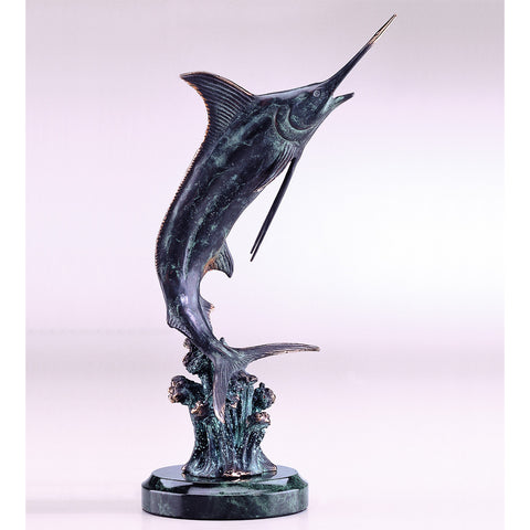 SPI Home Collection Hunting Marlin Sculpture - ArtsiHome
