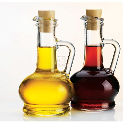 Ess For Handled Oil & Vin - Essentials Handled Oil & Vinegar Set - ArtsiHome