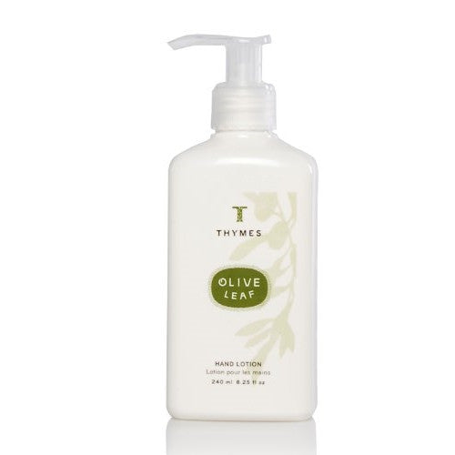 Thymes Hand Lotion, Olive Leaf, 8.25-Ounce Pump Bottle - ArtsiHome - Thymes