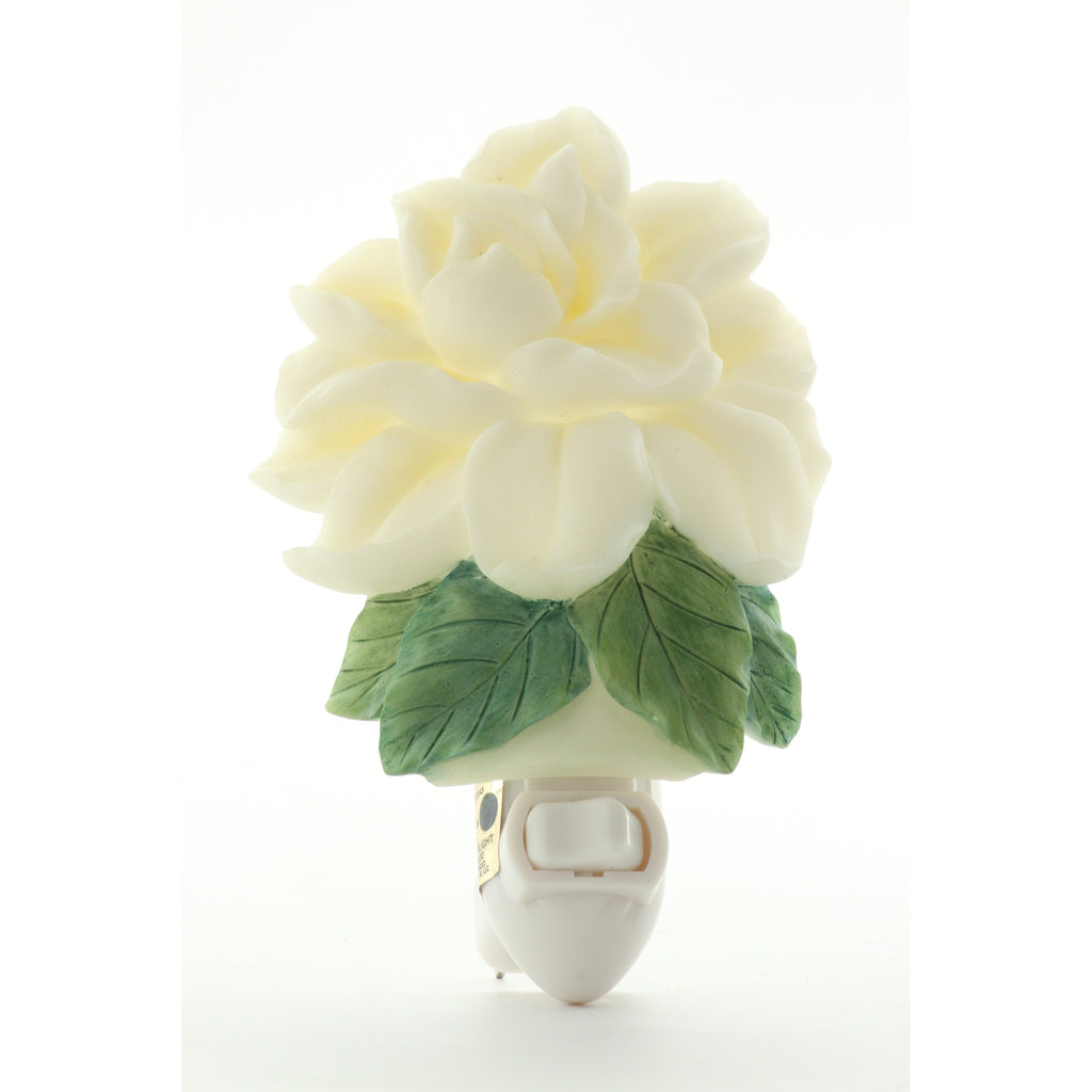 Gardenia Night Light, Ibis & Orchid Nightlights, NIB, 50158 - ArtsiHome