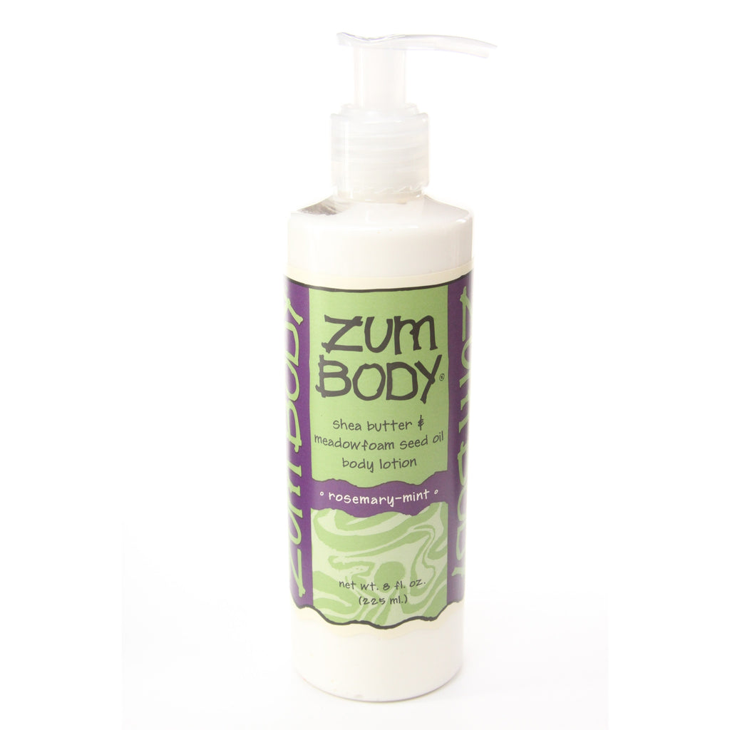 Zum Body Shea Butter and Meadowfoam Seed Oil Body Lotion Rosemary-Mint -- 8 fl oz - ArtsiHome - Indigo Wild - 14