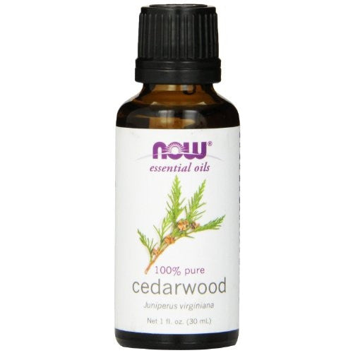 Now Foods Cedarwood Oil 1 ounce (Pack of 2) - ArtsiHome