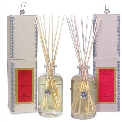 Votivo Red Currant Reed Diffuser - TWO Pack - ArtsiHome - Votivo