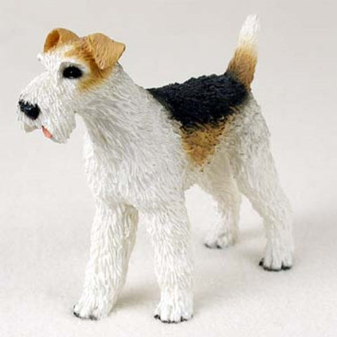 Fox Terrier - Wirehaired - Figurine - ArtsiHome