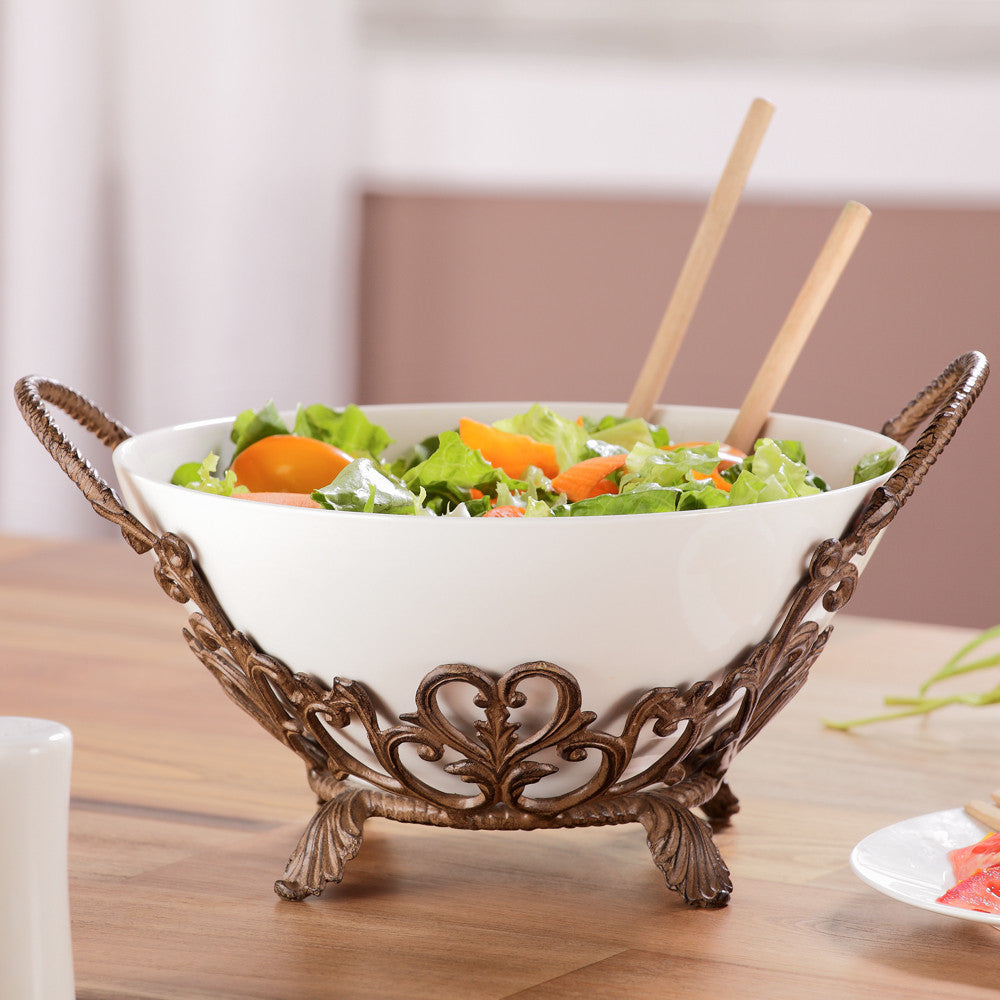 SPI Entertaining Collection Classic Serving Bowl - ArtsiHome