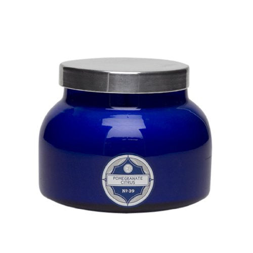 Aspen Bay Capri Blue Signature Jar Candle - Pomegranate Citrus - 20 oz - ArtsiHome