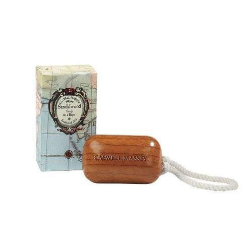 Caswell-Massey Sandalwood Soap on a Rope 8 ounce - ArtsiHome