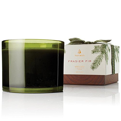 Thymes Frasier Fir Candle 3 Wick, 17 oz