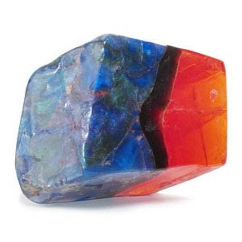Soap Rock - 6 oz. - Fire Opal Design with Fresh Scent - ArtsiHome