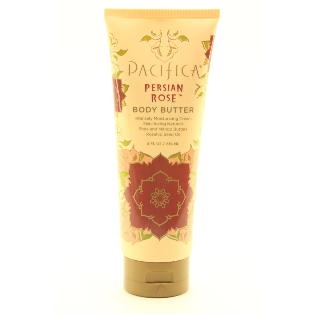 Pacifica Body Butter Persian Rose Scent, 8 oz - ArtsiHome