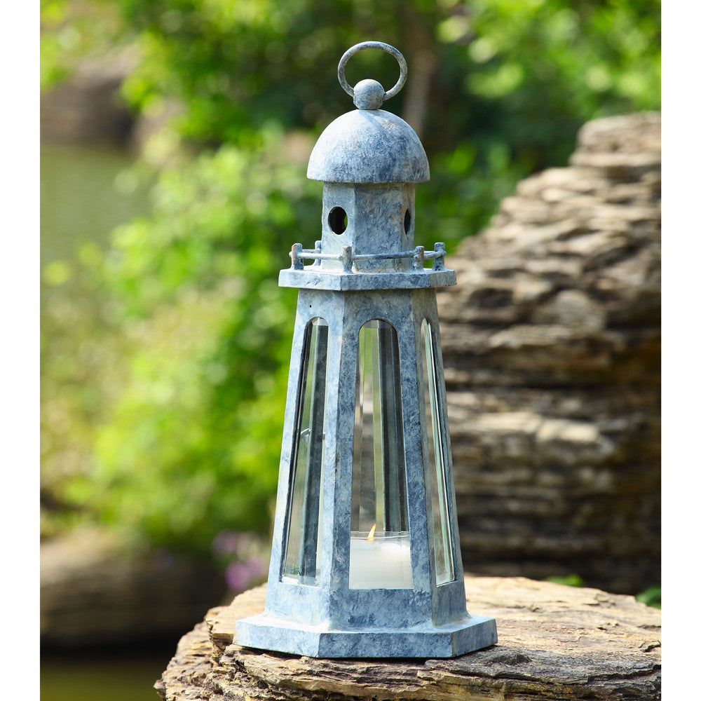SPI Garden Collection Lighthouse Lantern - ArtsiHome