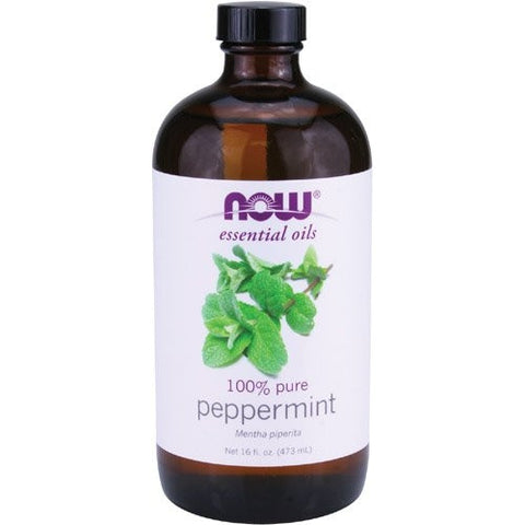 NOW Foods Peppermint Oil, 16 ounce - ArtsiHome