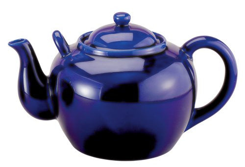 Cobalt Tea Infuser (32 oz Pot) - ArtsiHome