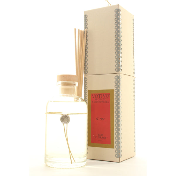 -&&&-Votivo Aromatic Reed Diffuser Red Currant - ArtsiHome