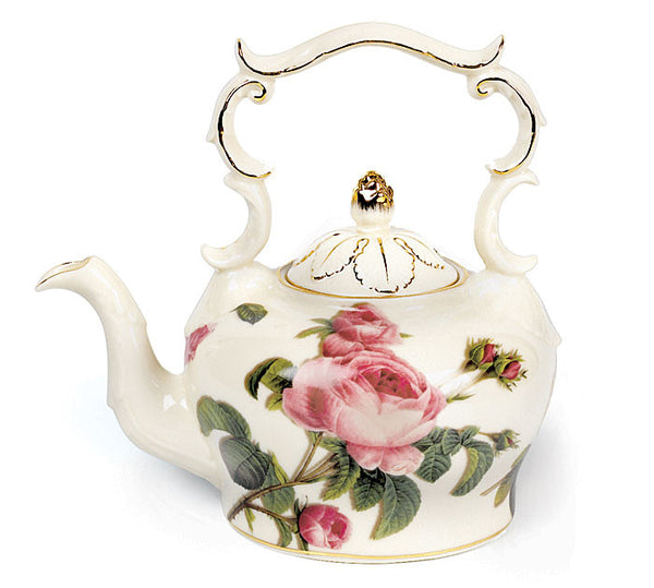 Teapot Romantic Rose - ArtsiHome
