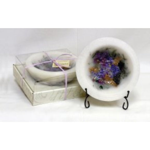 Habersham Wax Pottery Vessel - Lilac Blossom in Gift Box - ArtsiHome - Habersham