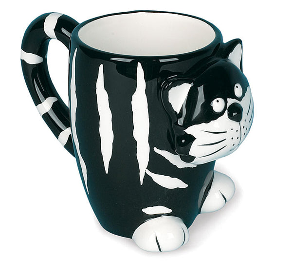 Burton & Burton Chester the Cat Coffee Mug - ArtsiHome