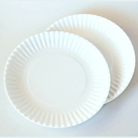 Washable 'Paper' Plates, Set of 4, Shrink Wrapped, Melamine 11in - ArtsiHome - OneHundred80 - 3