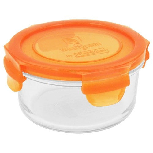 Wean Green Lunch Bowl  Baby Food Glass Container Single - Carrot - 13 oz - ArtsiHome - Wean Green