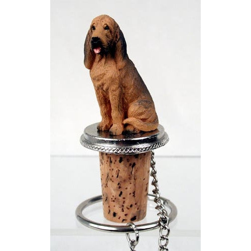 Bloodhound Wine Bottle Stopper - ArtsiHome
