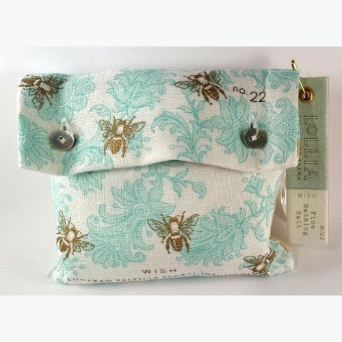 Lollia Wish Sea Salt Sachets-8.8 oz. - ArtsiHome