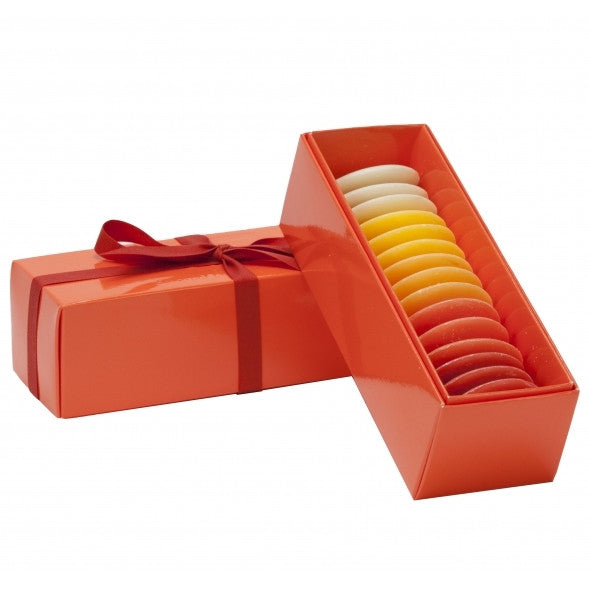 Claus Porto Assorted Guest Soap Pastille Gift Box-Orange - ArtsiHome