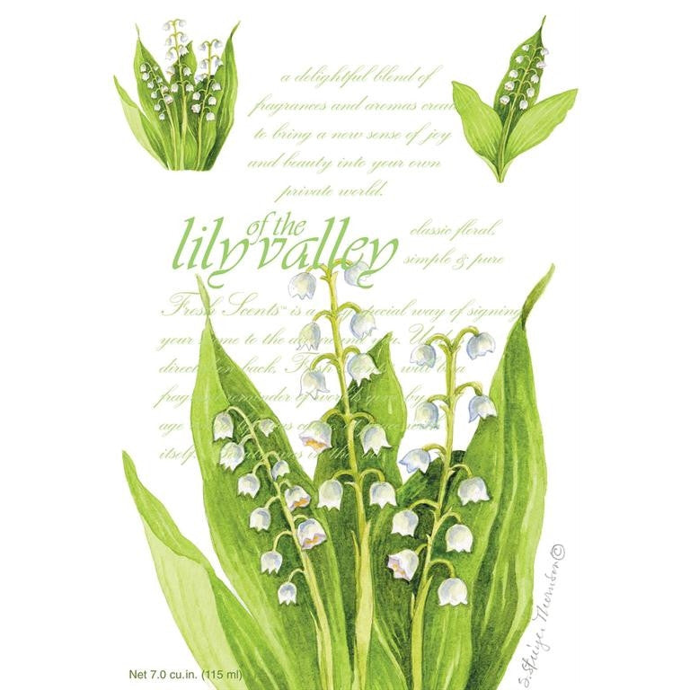 Fresh Scents Scented Sachets - Lily of the Valley, Lot of 6 - ArtsiHome