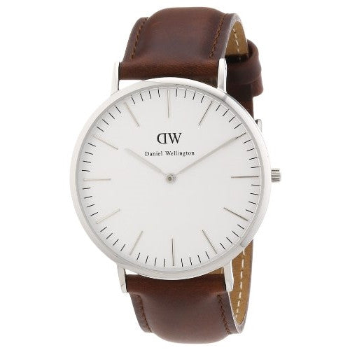 Daniel Wellington Men's Classic St Andrews Silver Watch - ArtsiHome