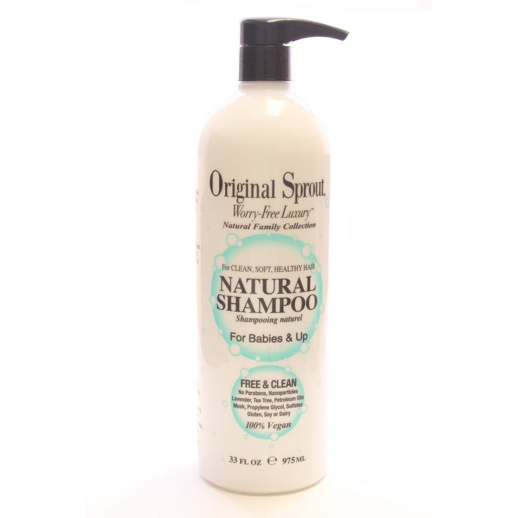 Original Sprout 33 oz Natural Shampoo - ArtsiHome